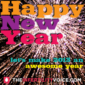 Happy New Year from The Infertility Voice